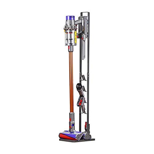 Meijunter Staubsaugerhalter Halterung Ständer für Dyson V6 V7 V8 V10 V11 Cord-free Extra Staubsauger - Staubsauger Freistehender Bodenständer,Zubehörhalter um alle Ihre Dyson Zubehör