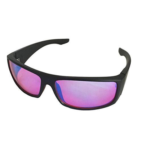 Farbenblinde Brillen Nützliche Brillen Farbenblindheit Korrektur Für Rot-Grün-Farbenblinde + Schutzbrillen