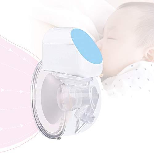 Bomba de leche materna portátil, extractor de leche materna eléctrico, manos libres, silencioso, 180 ml, para lactancia (individual, recargable) - 24mm