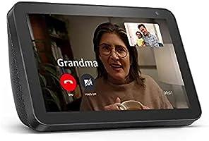Echo Show 8 (1st Gen, 2019 release) -- HD smart display with Alexa – Unlimited Cloud Photo Storage – Digital Photo...
