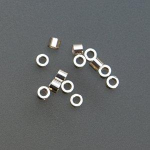 tube en argent sterling à sertir, 1,5 mm x 2 mm PK/100 – bds-112.06