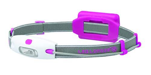 Led Lenser Neo Linterna Frontal Running Unisex, Rosa