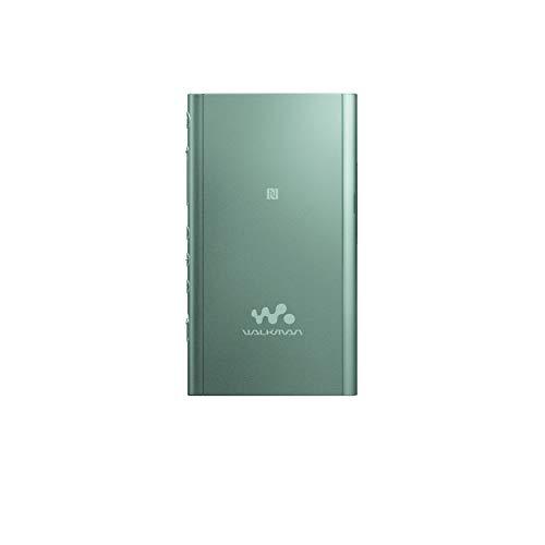 Sony NW-A55LG Walkman (16 GB, Hi-Res, Touch Screen, Bluetooth, NFC, microSD-Slot, Vinyl Processor), grün