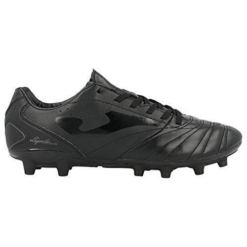 Joma Men's Aguila GOL FG Firm Ground Soccer Shoes (9, Black)
