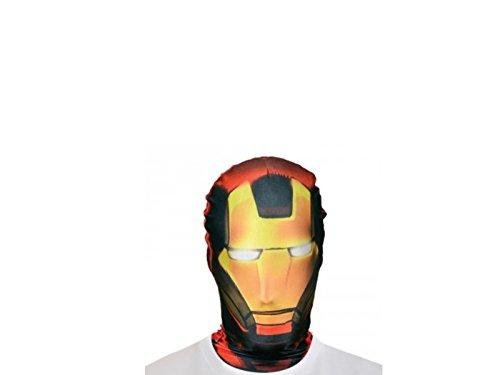 Générique Generico-ma1433-Passamontagna Morphsuit-Iron Man Taglia Unica