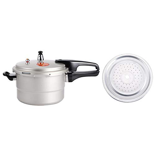 Heat-resistant with Steaming Layer Kitchen Cookware Cookware, Pressure Cooker, for Gas Stove Electric Ceramic Stove(20cm (gas, gas))