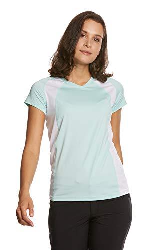 Jeff Green Ella T-shirt à manches courtes pour femme FR:38 Menthe/blanc.
