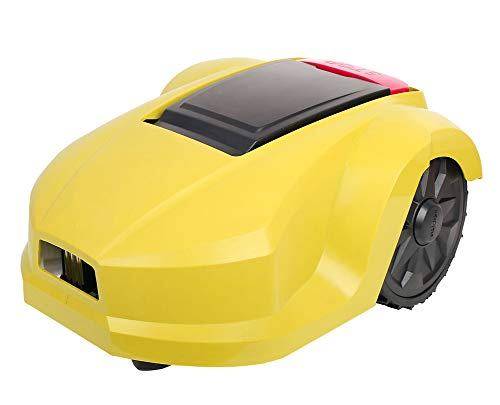 AHELT-J Robotic Lawn Mower, Battery Powered Mower-7.9-inch Mowing Smart Robot Lawn Mower, Suitable for Yards Up to 800m², Slopes Up to 28 Degrees and Grass Up to 5.5 Inches Tall.