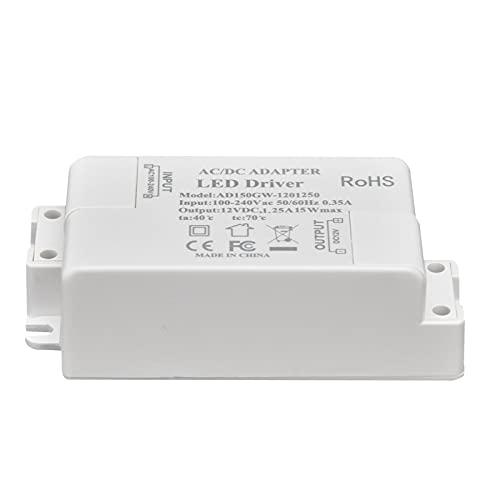 Transformador LED, Controlador LED Multiprotejado Para Lámparas De Bricolaje Para Iluminación Interior
