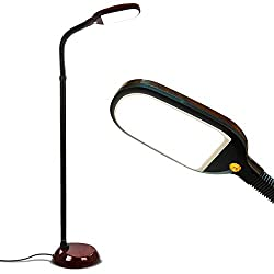 Brightech Litespan LED Bright Reading and Craft Floor Lamp