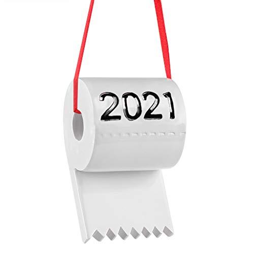 GRUTTI Toilettenpapier Geschenk Toilettenpapier Quarantäne Geburtstagsfeier Dekorationen Pandemie 2021 Quarantäne Überlebender Familienfeier Weihnachten Home Decor Geschenke -schwarz
