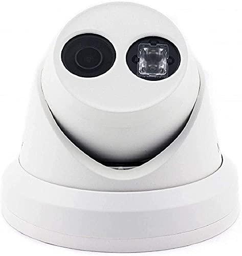 Fringe Trim Cámara De Domo De Red con Lentes De 2.8 Mm, Cámara De Vigilancia Inalámbrica HD para La Cámara Impermeable para La Seguridad del Hogar