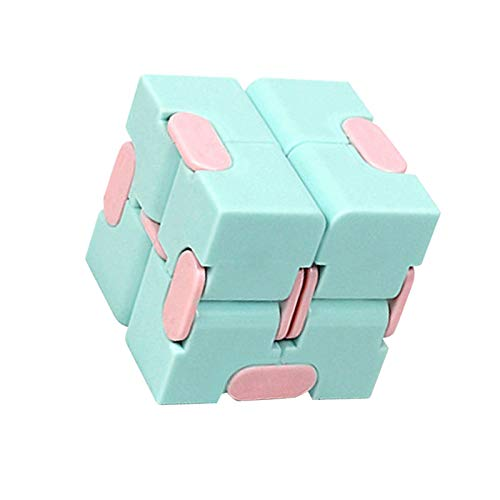 Infinity Cube Fidget Toy, Mini Speed Puzzle Cube Set, Sensory Stress Relief Descompression Fidget Finger Toys, Suave   Sólido Y Duradero para Niños Adultos