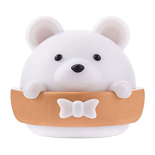 DALIBAI Creative Bear - Lámpara de mesa para dormitorio con diseño de oso para lactancia, para colgar en la pared, calmante, perfecto para la vida, pasillo, habitación de los niños