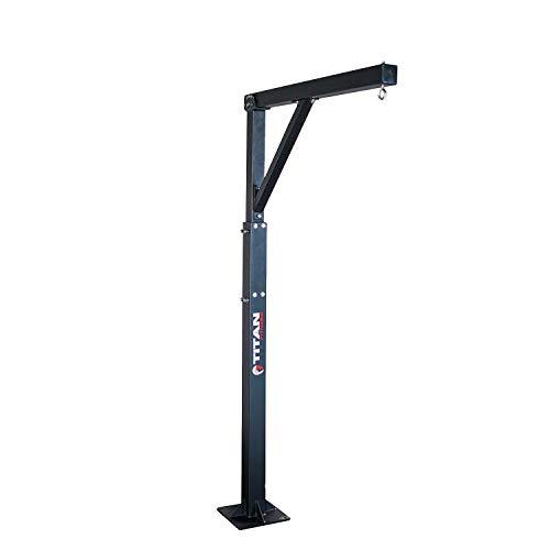 Titan Fitness Heavy Bag Boxing Stand 115 lb. Adjustable 300 lb. Capacity