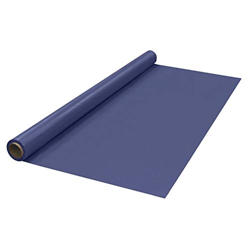 """Price comparison product image Party Essentials Heavy Duty Plastic Banquet Table Roll Available in 27 Colors,  40"""" x 150'"""