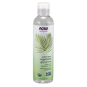 NOW Foods - Glicerina vegetal orgánica 100% Pure Versatile SkinCare - 8 oz. fl.