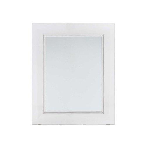 Kartell 8310E5 Miroir Mural François Ghost 111 cm Blanc