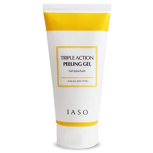 IASO Triple Action White Peeling Gel 7.05oz| peeling gel for face | Moist peeling gel