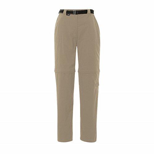 Paraguay Zip-Off Keela Pantalon De Voyage Homme Light Crimson/White Taille 38/S