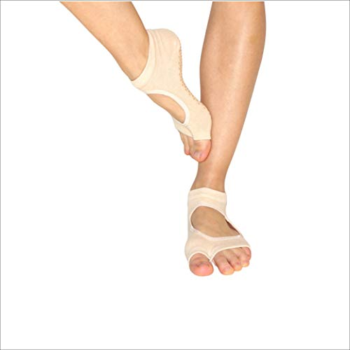 Lifelym | Calcetines antideslizantes para mujer | Yoga | Pilates | Sin dedos |