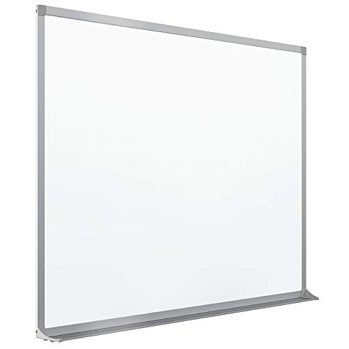 Quartet Porcelain Whiteboard, Magnetic Dry Erase White Board, 4' x 6', Aluminum Frame (PPA406)