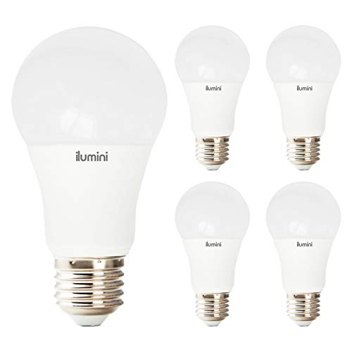 ilumini Bombillas LED A70 Estandár, Casquillo E27,15W equivalente a 100w, 6500K Luz Fría, 1500 Lúmenes [Clase de eficiencia energética A+] PACK DE 5