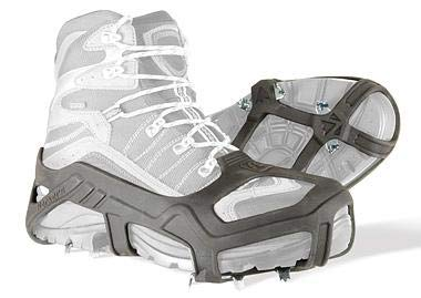 Korkers Apex Ice Cleat - Aggressive and Durable Ice Traction - 20 Multi-Directional DAW-Tooth Spikes - Black - XXLarge