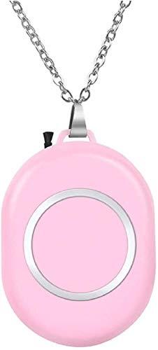 Collar de purificador de aire personal Portátil Mini ambientador, regalo creativo Portátil Cuello Colgante Purificador de aire Coche portátil Coche de oxígeno Barra de oxígeno Ion negativo Pur