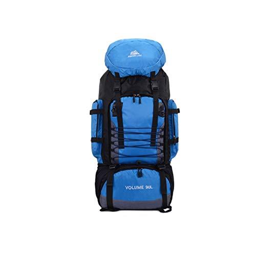 Bolsa de viaje de 90L Camping Mochila Senderismo Bolsas de escalada Trekking Montañismo