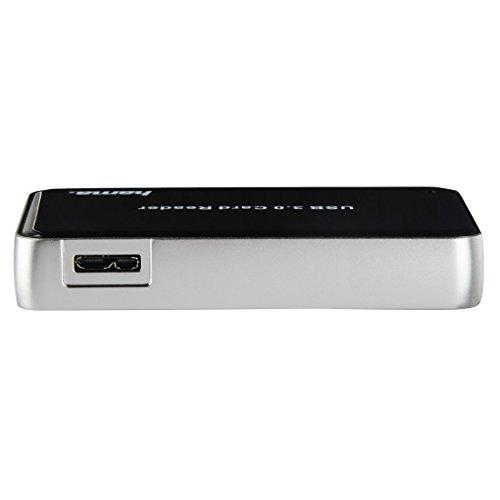 Hama Kartenleser USB 3.0 für SanDisk Speicherkarten Ultra / Extreme / Extreme Pro UHS-II / SuperSpeed Geschwindigkeit / Card Reader schwarz