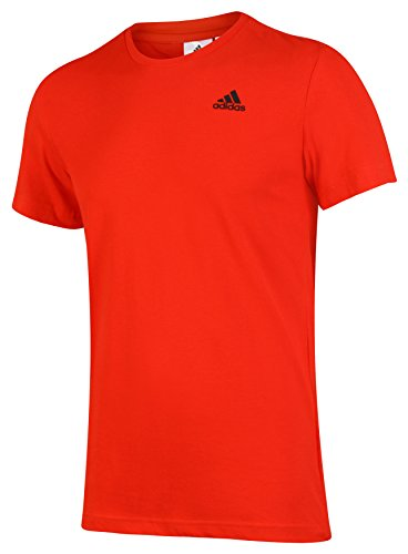 Adidas T-Shirt de Sport Essentials pour Homme L Rouge Vif