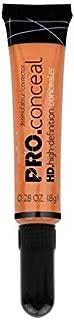 Makeup Fever Pro Conceal High-Definition Concealer (Orange Corrector, 8 g)