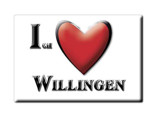 Enjoymagnets WILLINGEN (NI) Souvenir Deutschland Niedersachsen Fridge Magnet KÜHLSCHRANK Magnet ICH Liebe I Love