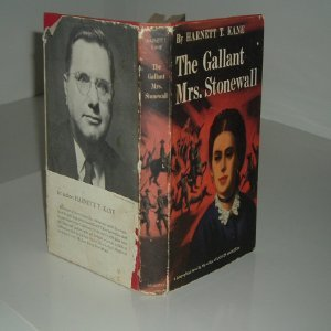 Unknown Binding THE GALLANT MRS. STONEWALL By HARNETT T. KANE signed 1957 First Edition Book