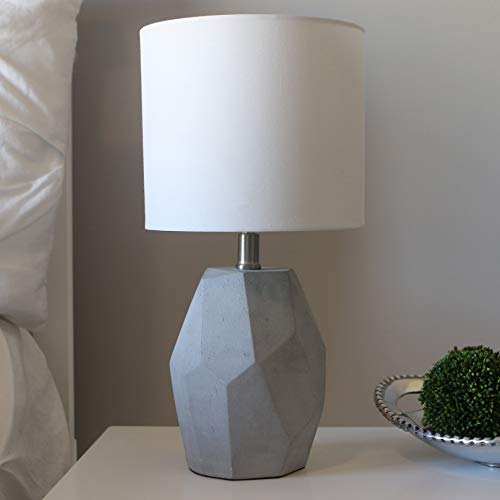 Décor Therapy TL17213 Table lamp, Gray