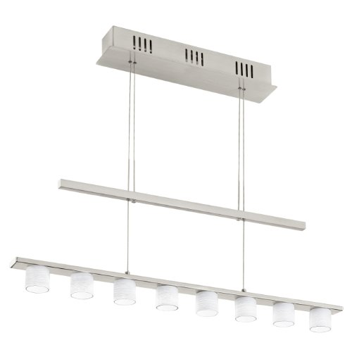 Eglo Pulsano Support Flexible 2 W Led Nickel Lampe à Suspension