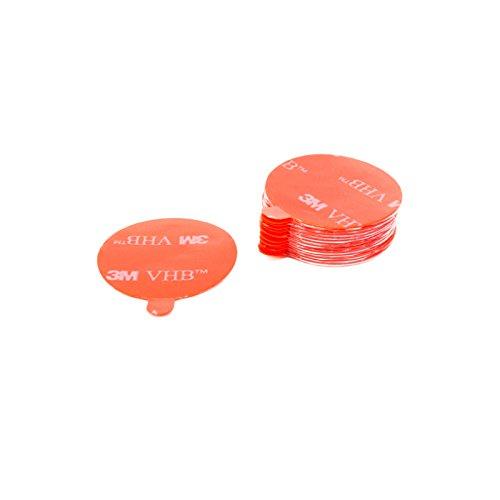DonDo 3M VHB 4905F Klebeband Klebepads Klebestreifen doppelseitig hochtransparent für hochenergetische Werkstoffe Durchmesser 30mm - 15 Stück