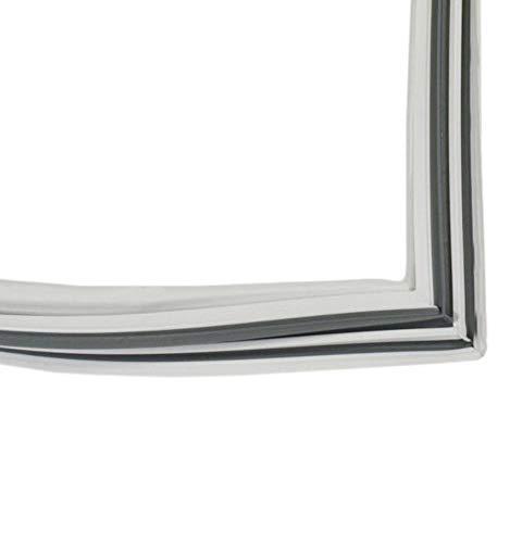 GE WR24X450 Refrigerator Door Gasket (White) Genuine Original Equipment Manufacturer (OEM) Part White