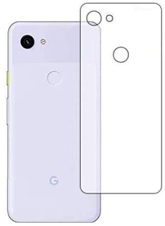 PDA工房 Google Pixel 3a 衝撃吸収[光沢] 保護 フィルム [背面用] 耐衝撃 日本製