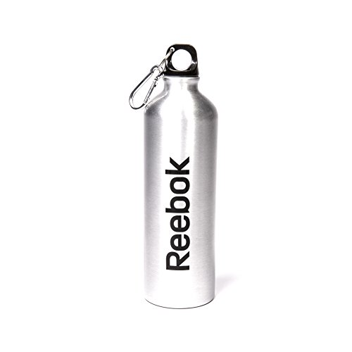 Reebok RABT-A75ALREBOKC - Botella de Agua, Color Plateado, 75cl