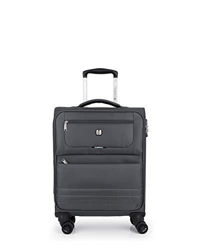 Gabol Trolley C22 Aruba. Koffer 50 cm, grau (Grau) - 118822 016