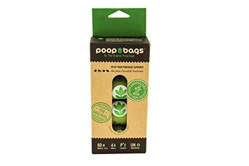 Poop Bags Sacs (Lot de 4), Vert