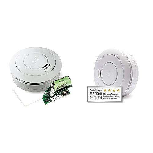 Ei Electronics Ei650RF 10-Jahres-Funkrauchmelder, 1 Stück & Ei650 Rauchmelder (mit 10-Jahres-Batterie, Testsieger Stiftung-Warentest, 1 Stück)