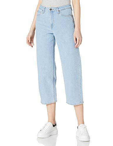 Lee Wide Leg Jeans, Light Alton, 31W x 33L Femme