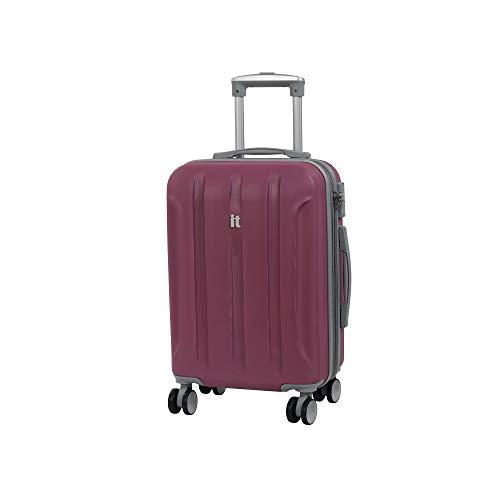 it luggage Proteus 8 Wheel Hard Shell Single Expander Suitcase with TSA Lock Maleta, 54 cm, 47 Liters, Rosa (Malaga)
