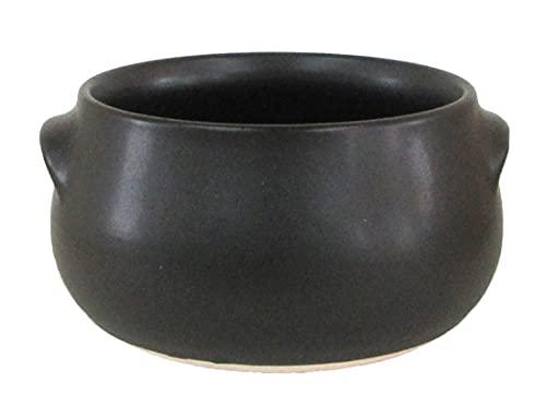スープカップ シチューボール 黒 直火使用可 9d71232-138