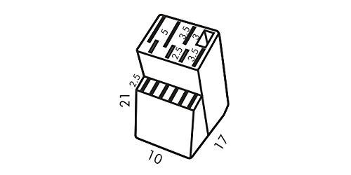 Messerblock Block WOODY für 13 Messer und Schere/Wetzstahl - 2