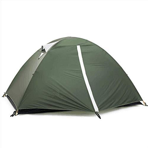 QWER2P 2 Personen Schnelle 60 Sekunden Einfacher Aufbau Sofortiges Kajütenzelt, Campingzelt, Top Rainfly, Wasserdichtes Zelt Fortschrittliches Belüftungsdesign