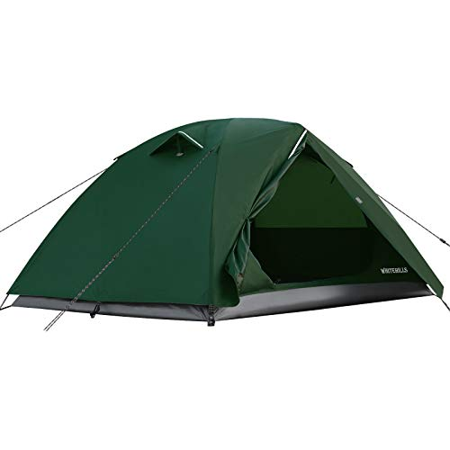WhiteHills Backpacking Tent 2 Person Lightweight Outdoor Tent with Removable Rain Fly, Easy Setup...